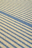 Righe di ombra su asfalto Fotografia Stock