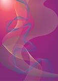 Righe di Swirly Immagine Stock