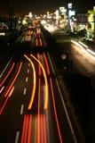 Righe di traffico Immagine Stock