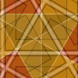 Righe diagonali bande Brown illustrazione di stock
