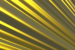 Righe dorate Fotografie Stock