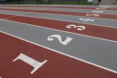 Righe file sport immagini stock libere da diritti