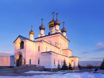 Righe nell'architettura ortodossa Fotografie Stock Libere da Diritti