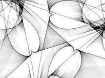 Righe nere reticoli di Vaious illustrazione vettoriale