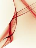 Righe rosse illustrazione vettoriale