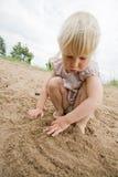 Righe sulla sabbia Fotografia Stock Libera da Diritti