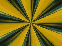 Righe verdi e gialle estratto Fotografie Stock