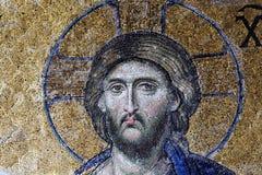 Righello del Christ Pantocrator Fotografia Stock Libera da Diritti