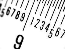 Righello in millimetri Fotografia Stock Libera da Diritti
