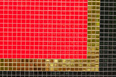 Right angle of color wallpaer Royalty Free Stock Image