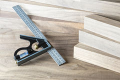 Right angle square Royalty Free Stock Image