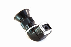 Right Angle View Finder Isolated on White Backgrou Royalty Free Stock Photo