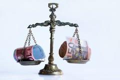 The right balance Stock Image