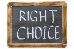 Right choice fr Stock Photos