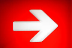 Right direction Stock Photography