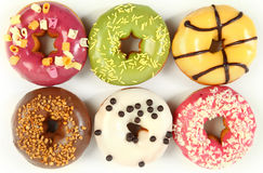 Right Donuts Royalty Free Stock Images