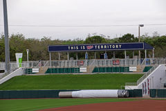 The Right Field Lawn at Hammond Stadium Royalty Free Stock Photo