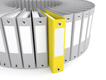 The right folder Stock Photography