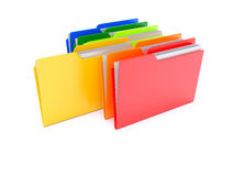 The right folder Royalty Free Stock Image