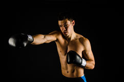 Right hand jab Stock Photography