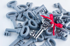 Right key business solution concept Stock Photography