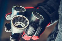 Right Mechanics Tools royalty free stock photo