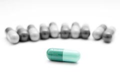 The right pill Royalty Free Stock Photography