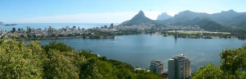 Rodrigo de Freitas lagoon, Rio de Janeiro, Brazil stock photos