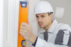Right positioning door Stock Photography