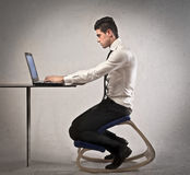 Right Posture Royalty Free Stock Photos