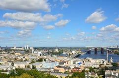 Right riverbank of Kiev Stock Image