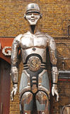 Right Robot of a shop in Camden. Right Robot of Shop Entrance in Camden Market Stock Images
