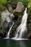Right Side of Bash Bish Falls royalty free stock image