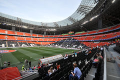 Right size view of Donbass-Arena Royalty Free Stock Image