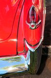 Right taillight of red car  Royalty Free Stock Photos