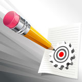 Right on Target Royalty Free Stock Photos