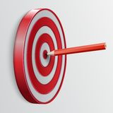 Right on Target Royalty Free Stock Image