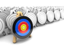 Right target Stock Images