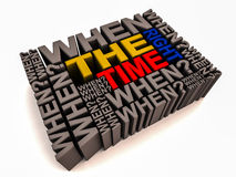 The right time Royalty Free Stock Photo
