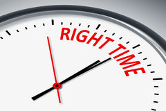 Right time Royalty Free Stock Image