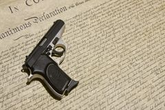 The Right to Bear Arms Stock Photography