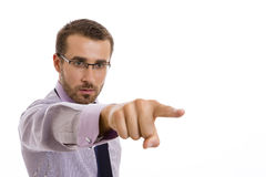 Right to the point stock images