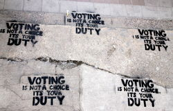 Right to Vote Royalty Free Stock Photo
