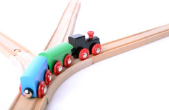 On the right track. Business concept of on the right track Royalty Free Stock Images