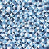 Right triangle pattern. Seamless vector frosty background Stock Image