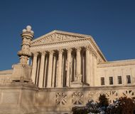 Right view of US Supreme Court Royalty Free Stock Photos