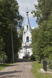 Righteous of Lazar Church on Gorbachev's Cemetery in the city of Vologda Stock Image