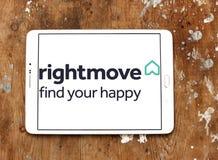 Rightmove nieruchomości firmy logo Zdjęcie Stock