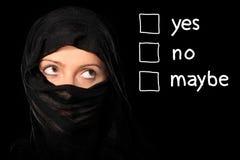 rights kvinnor Arkivbild