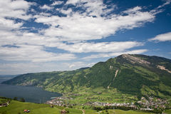 Rigi view Royalty Free Stock Photography